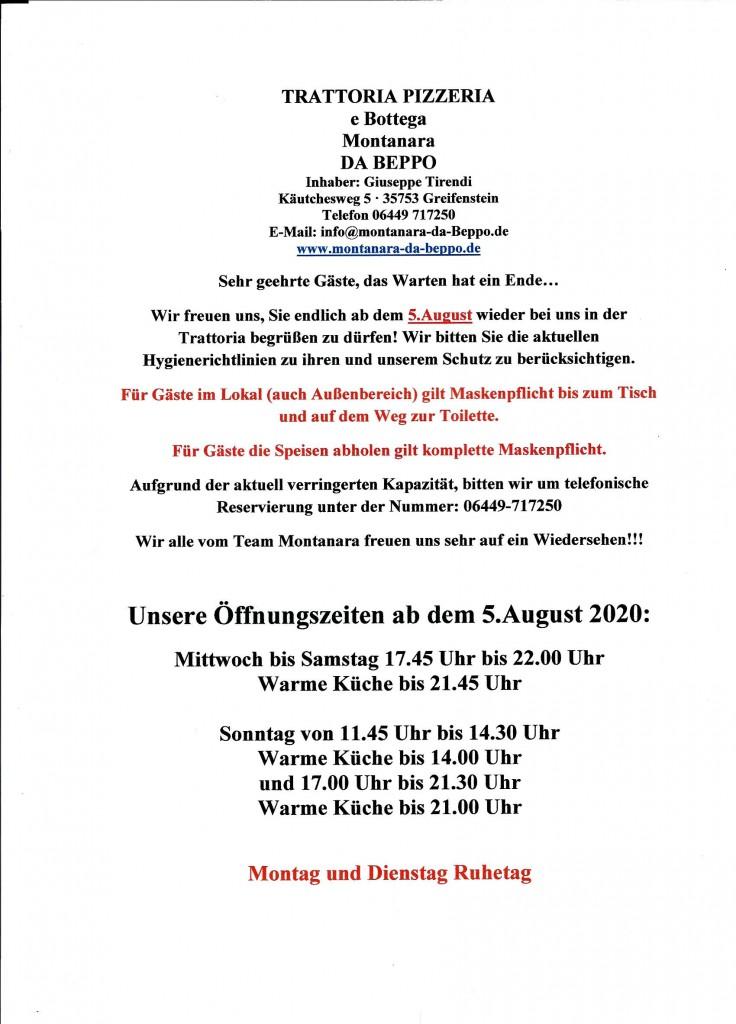 5.august öffnung